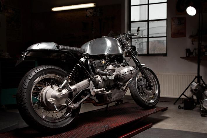 BMW cafe racer ©Tim Adler & Susann Zielinski aka Z.U.P.A.