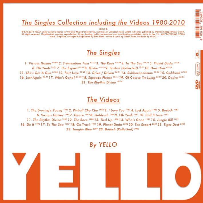 YELLO CD back 2012 © Susann Zielinski - All Rights Reserved