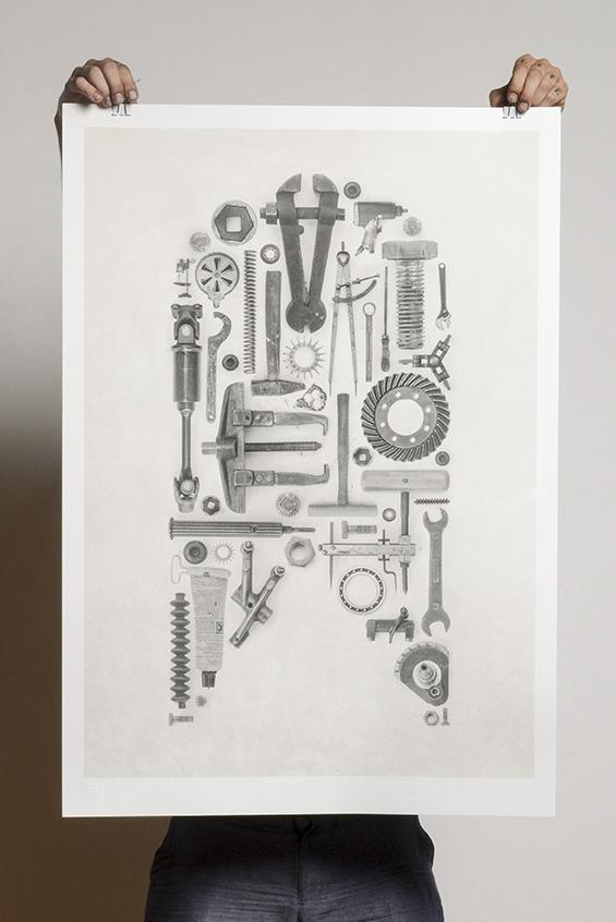 Urban Motor Art Print 2014 © Susann Zielinski / Lilie von Grün