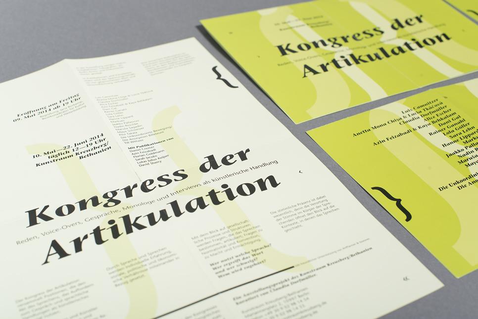 Kongress der Artikulation 2015 © Susann Zielinski / Lilie von Grün